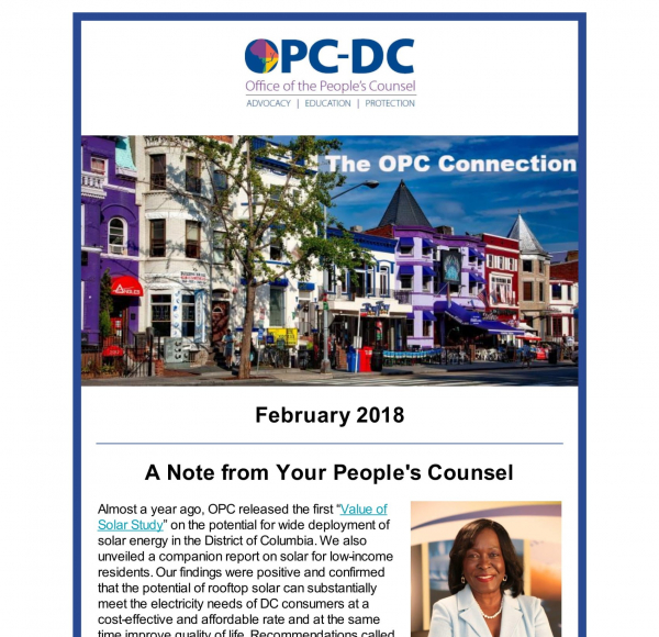 The OPC CONNECTION - February 2018