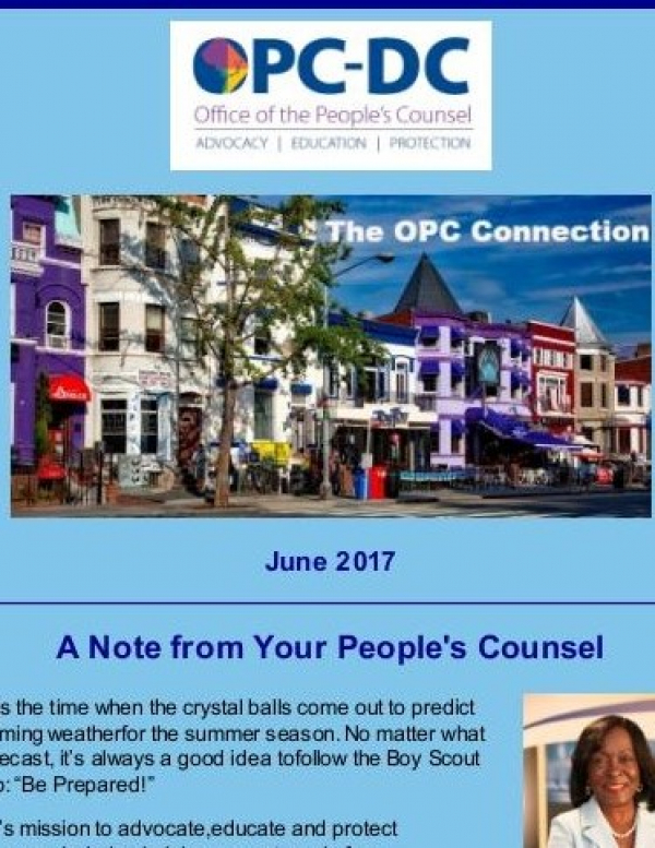 The OPC  CONNECTION - June 2017