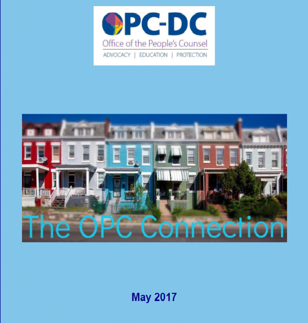 The OPC  CONNECTION - May 2017