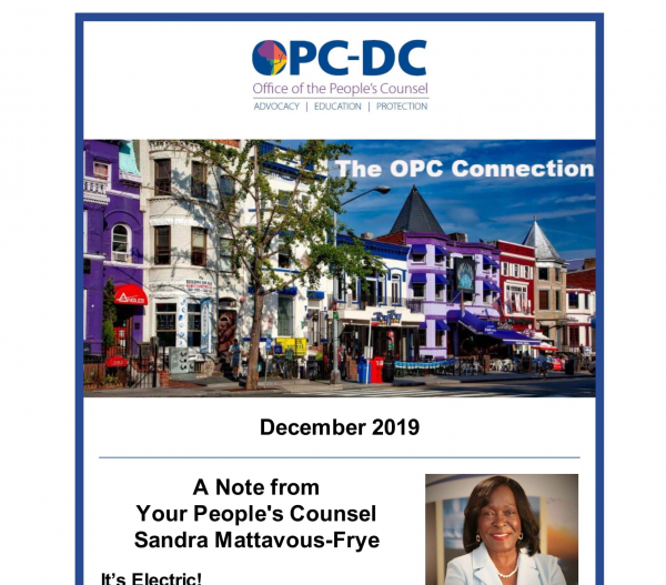 The OPC CONNECTION - December 2019