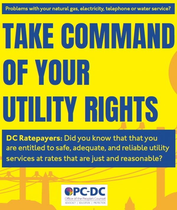 Take Command of your Utility Rights